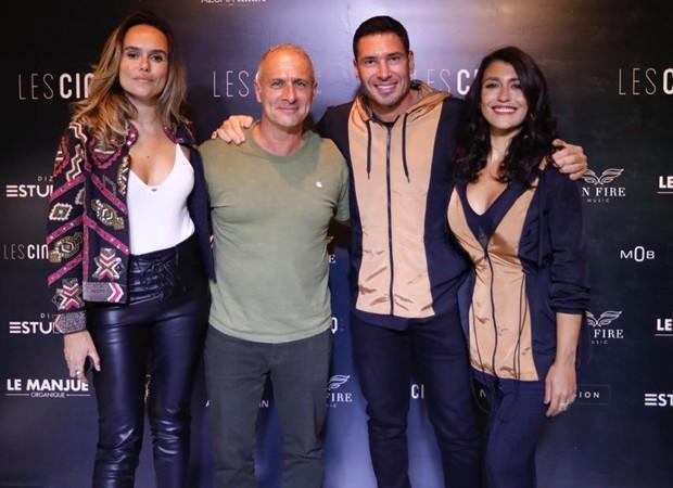 Pamela Mariano, Marcelo Did, Rodrigo Sangion e Suzana Doval (Foto: Foto:  Divulgação)