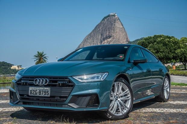 Audi A7 Sportback é belo, mas deveria custar menos (Foto: Divulgação)