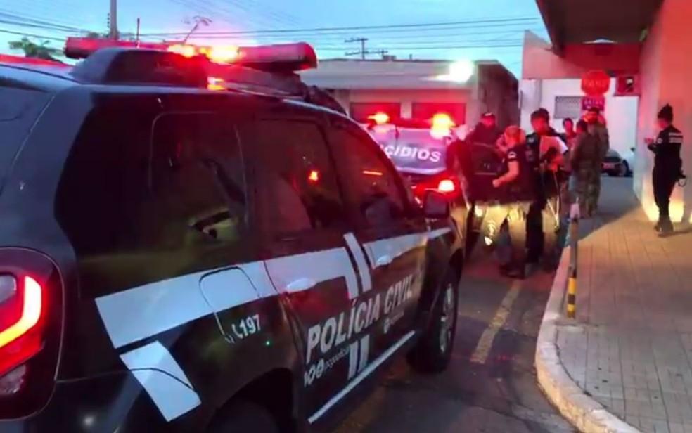 Polícia deflagra operação que apura desvios de recursos públicos e corrupção no Detran-GO Goiás — Foto: Reprodução/TV Anhanguera