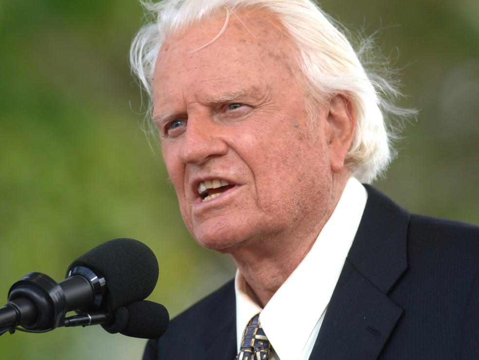 Billy Graham em foto de 2005  (Foto: Henny Ray Abrams/AP)