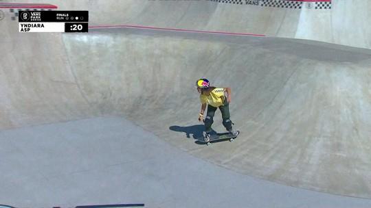 Yndiara Asp derruba japonesa e vence etapa do Circuito Internacional de Park em SP