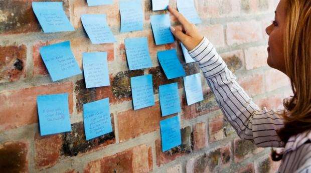 startups; post-it; criatividade; inspiracao (Foto: ThinkStock)