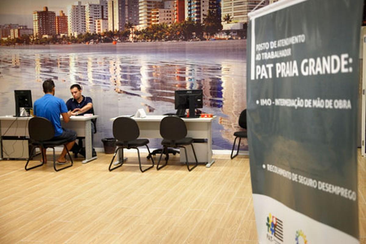PAT de Praia Grande tem doze novas oportunidades de trabalho - G1