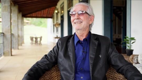 Pai de Murilo Rosa conta pedido de infância do ator: 'Tinha que estar tocando Roberto Carlos'