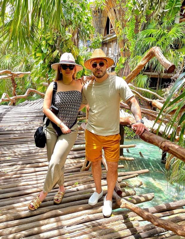Marília Mendonça e Murilo Huff em Tulum, no México (Foto: Reprodução/Instagram)