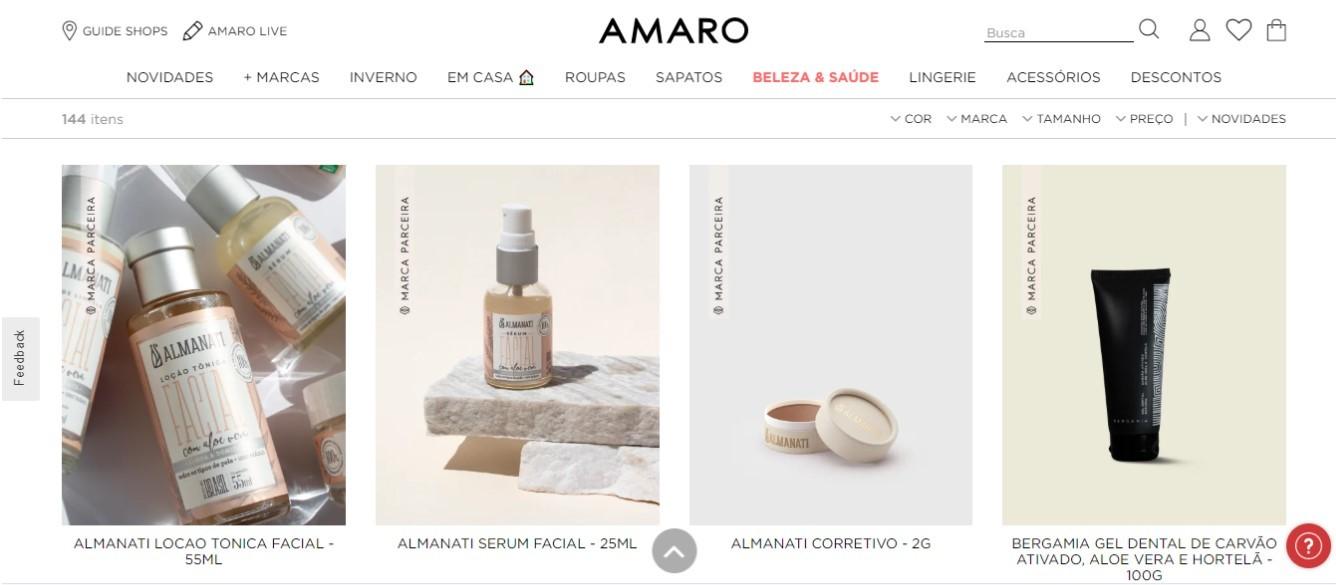 Amaro (Foto: Reprodução amaro.com)