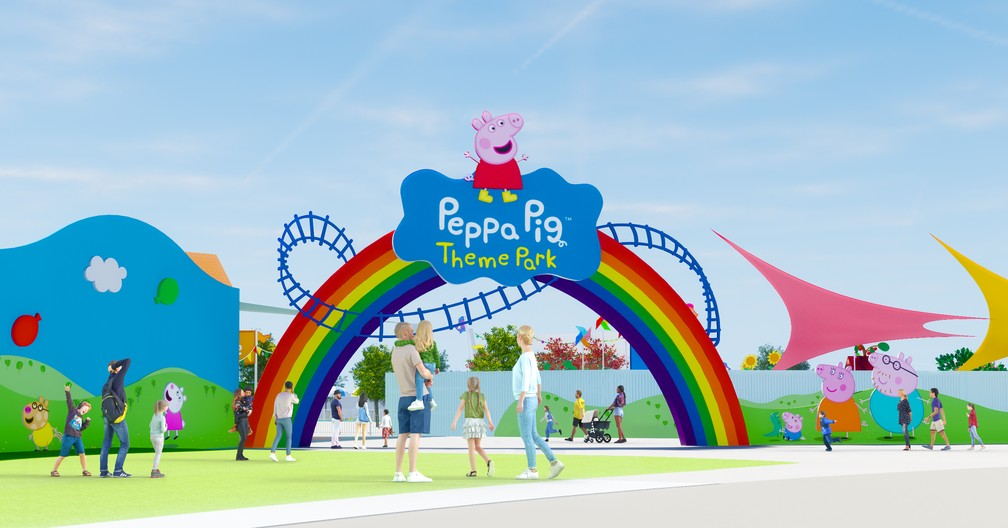 Peppa Pig terá parque temático na Flórida — Foto: Divulgação