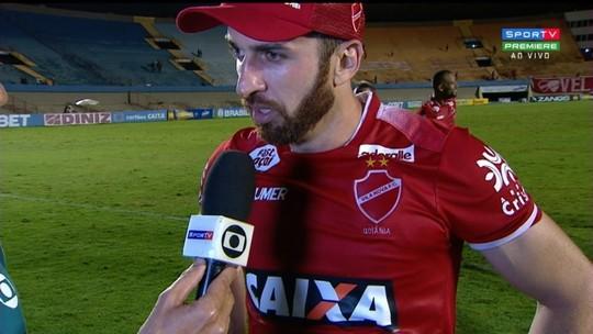Elias dedica vitória à torcida e diz que Vila Nova continuará em busca do acesso