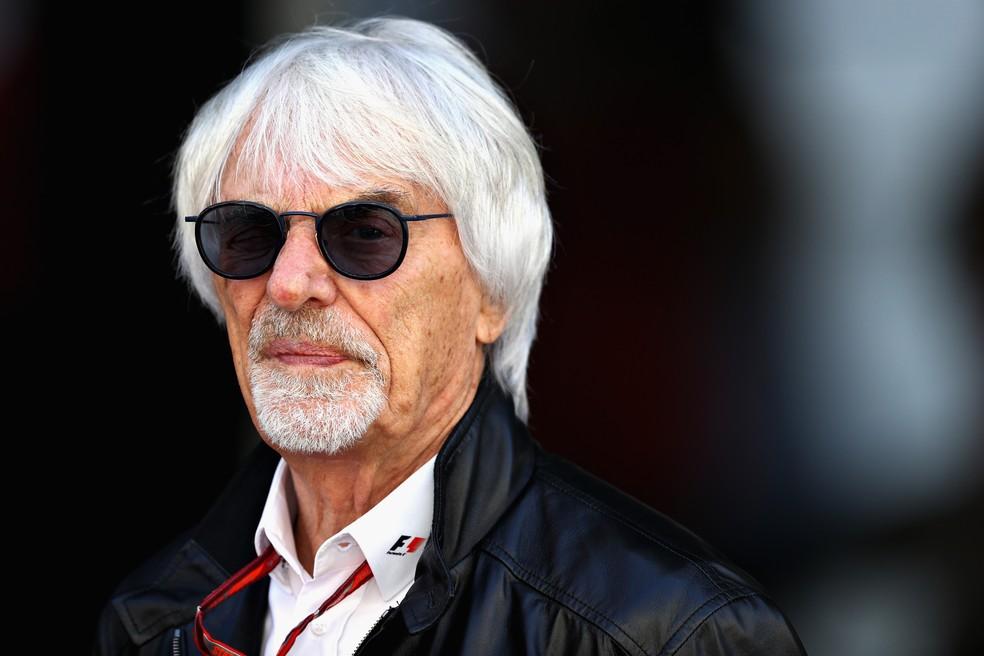 Bernie Ecclestone diz que cancelaria F1 em 2020 se fosse chefão ainda — Foto: Getty Images