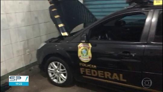Quadrilha é presa com carros clonados da PF e da Receita Federal