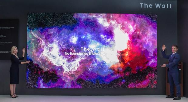Samsung lança TV de 219 polegadas (Foto: Divulgação)