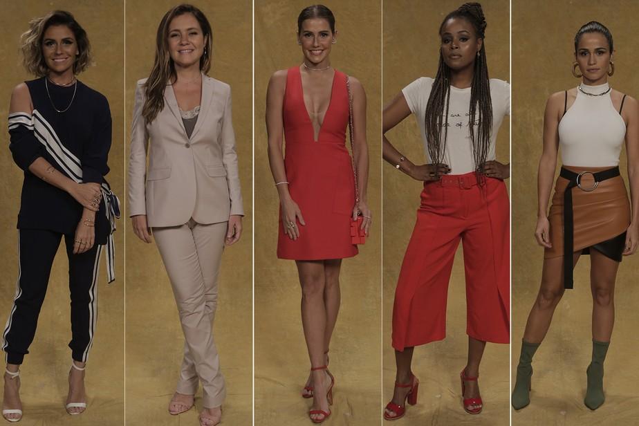 Elenco dá show de estilo e elegância em coletiva de 'Segundo Sol'
