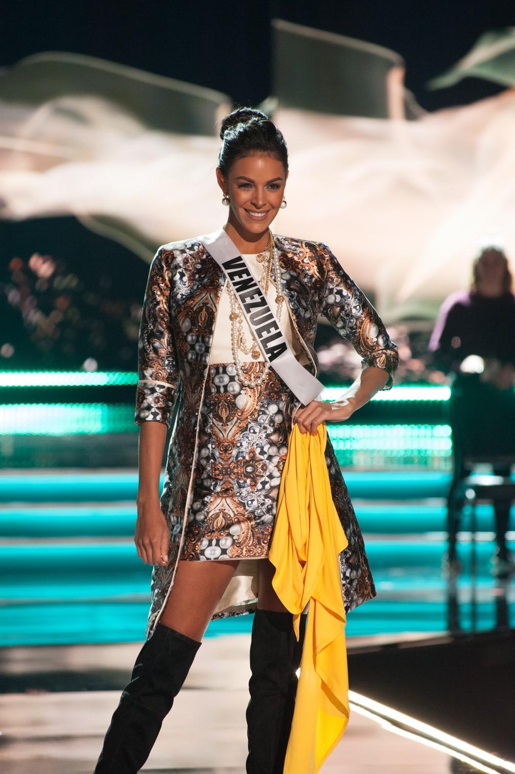 Keysi Sayago, Miss Venezuela (Foto: Patrick Prather/Miss Universe Organization/AFP)