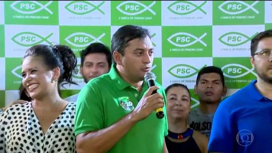 Wilson Lima (PSC) foi eleito governador do Amazonas