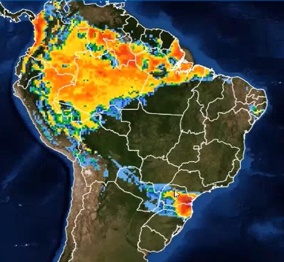 previsão do tempo (Foto: Reprodução)