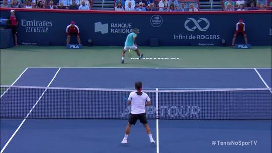 Em revanche de Monte Carlo, Nadal vira sobre Fognini e vai à semifinal em Montreal