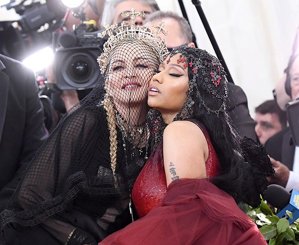 Madonna e Nicki Minaj (Foto: Getty Images)