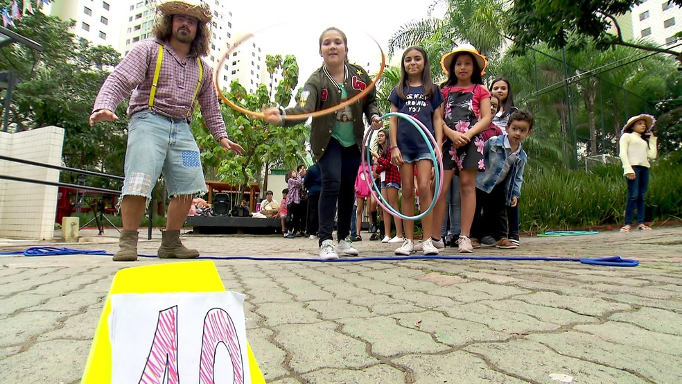 Conheça opções de brincadeiras juninas para crianças — Foto: Reprodução/ TV Globo