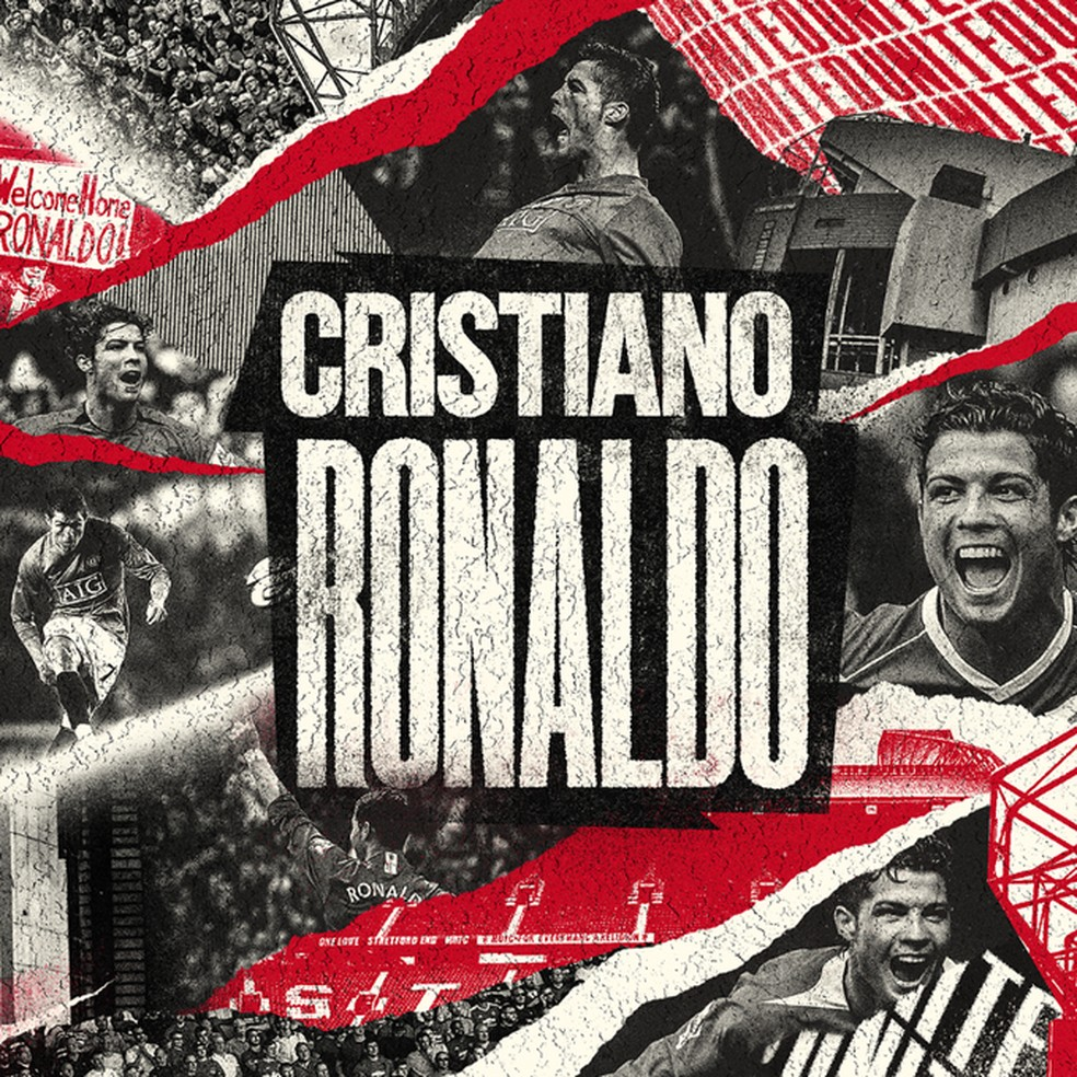 Manchester United anuncia a contratação de Cristiano Ronaldo