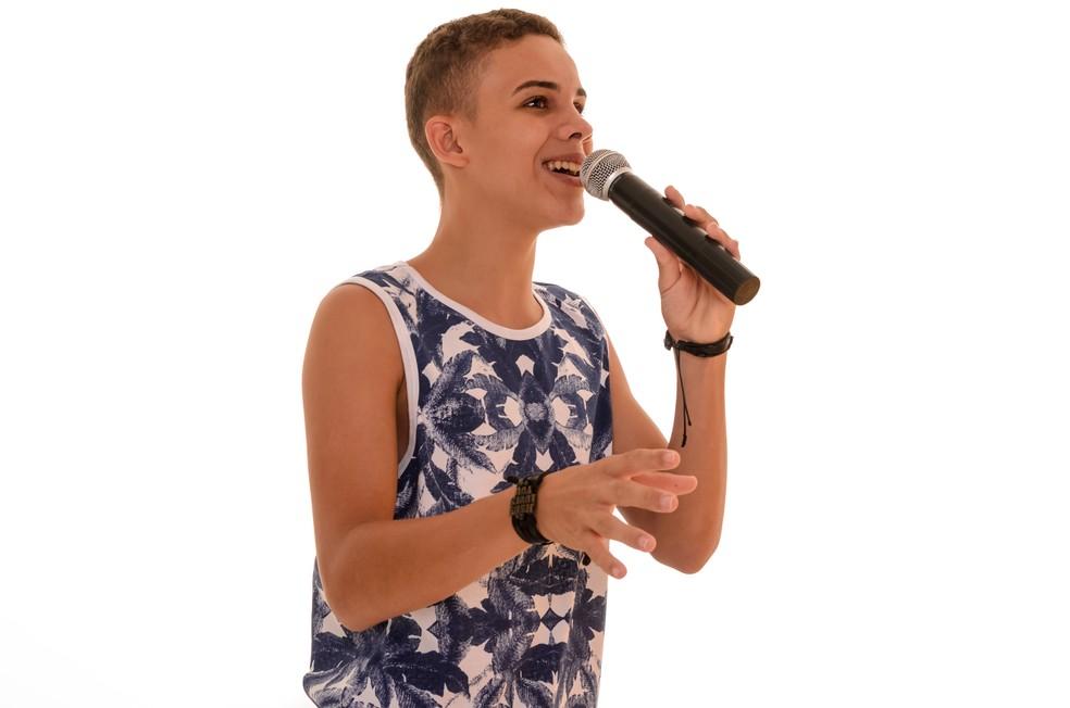 Elizaldo Alves participou da temporada de 2016 do The Voice Kids (Foto: Divulgação)