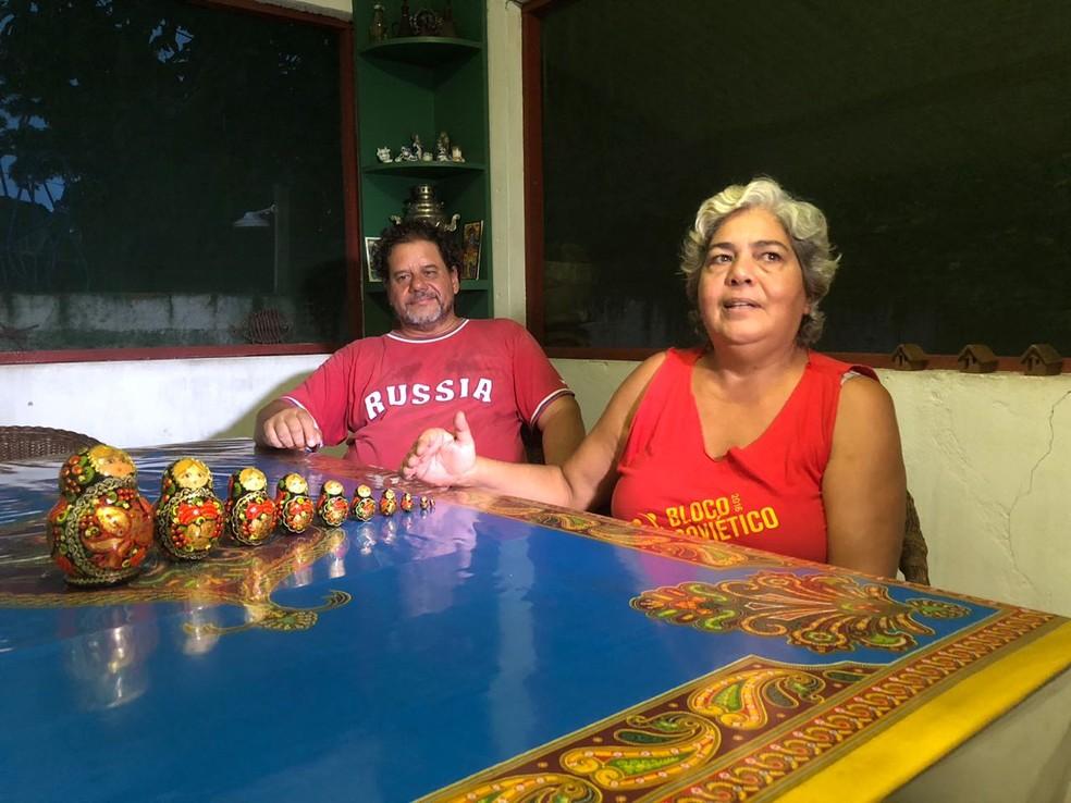 Mariana Prestes conta história do seu pai, Luiz Carlos Prestes  (Foto: Lucas Cortez/G1 )