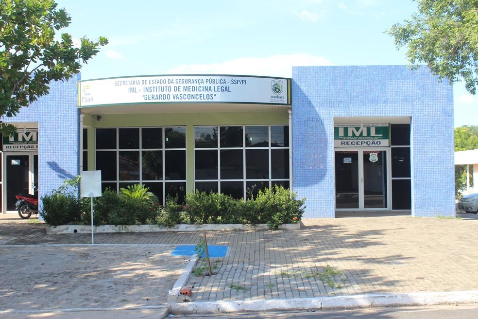 Instituto de Medicina Legal - IML Teresina — Foto: Lucas Marreiros / G1