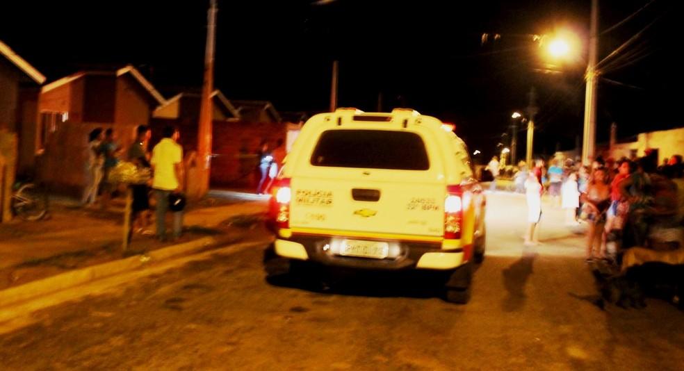 PM foi acionada por filho adolescente de mulher presa (Foto: Bárbara Almeida/G1)