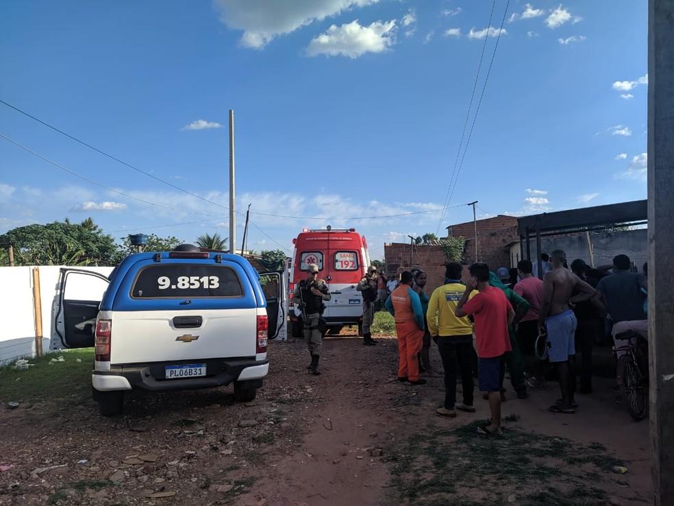 Caso aconteceu nesta quarta-feira (30), em Luís Eduardo Magalhães — Foto: Divulgação/Blog do Braga