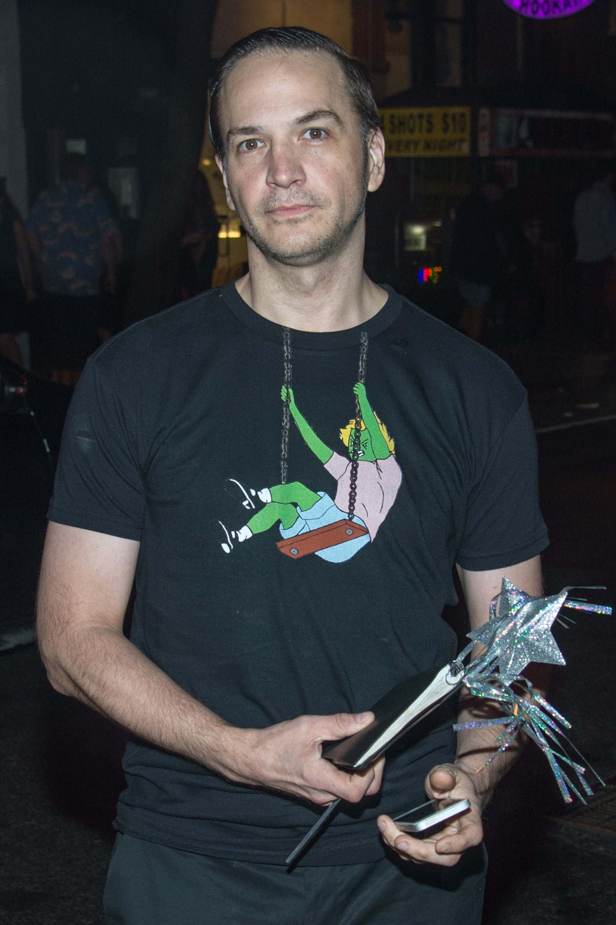 Michael Alig em 2015 (Foto: Getty Images)