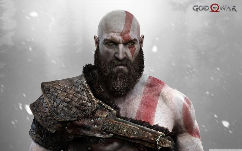 Kratos em God of War (Foto: Divulgação/Sony)