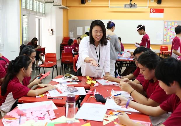 Ministério de Educação de Cingapura quer se afastar de uma ênfase exagerada nos resultados acadêmicos (Foto: Reprodução/Facebook/Ministry of Education, Singapore)