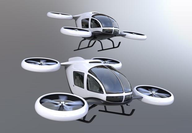 Carros voadores são uma das ambições tecnológicas dos humanos que mais aparecem em filmes (Foto: Thinkstock)