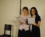 Maitê Proença faz leitura de peça com Clarice Niskier no Midrash Centro Cultural   Felipe Paiva