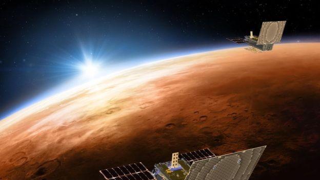 Nasa tem planos concretos de realizar viagens espaciais longas a partir da próxima década (Foto: NASA/JPL-CALTECH via BBC News Brasil)