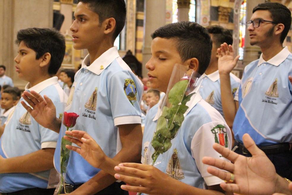 -  As incrições irão acontecer aos domingos do mês de fevereiro  Foto: Reprodução/Ascom Basílica