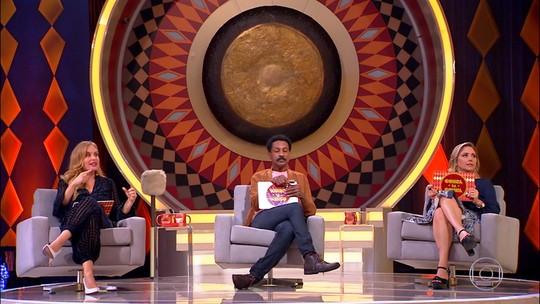 Luciano Huck fica confuso ao apresentar Angélica no Caldeirão: 'Chamo de amor?'