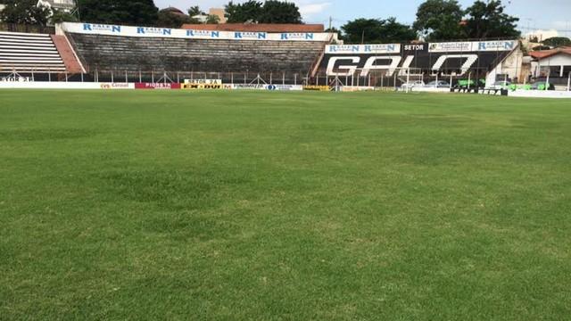Estádio Agostinho Prada, em Limeira, será palco do jogo de volta, nesta quarta-feira (25)