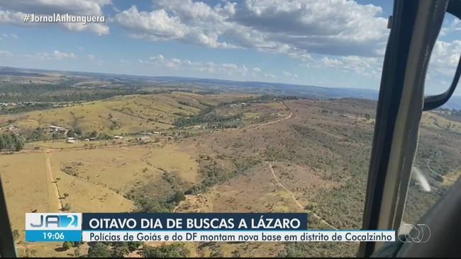 Lázaro Barbosa é visto por morador próximo a chácara de Cocalzinho de Goiás