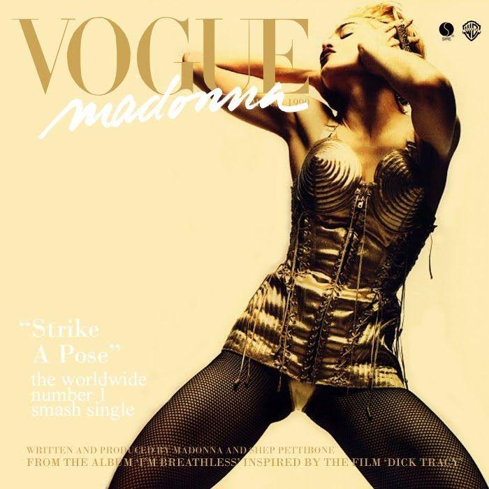 Madonna - Vogue (Foto: Divulgação)