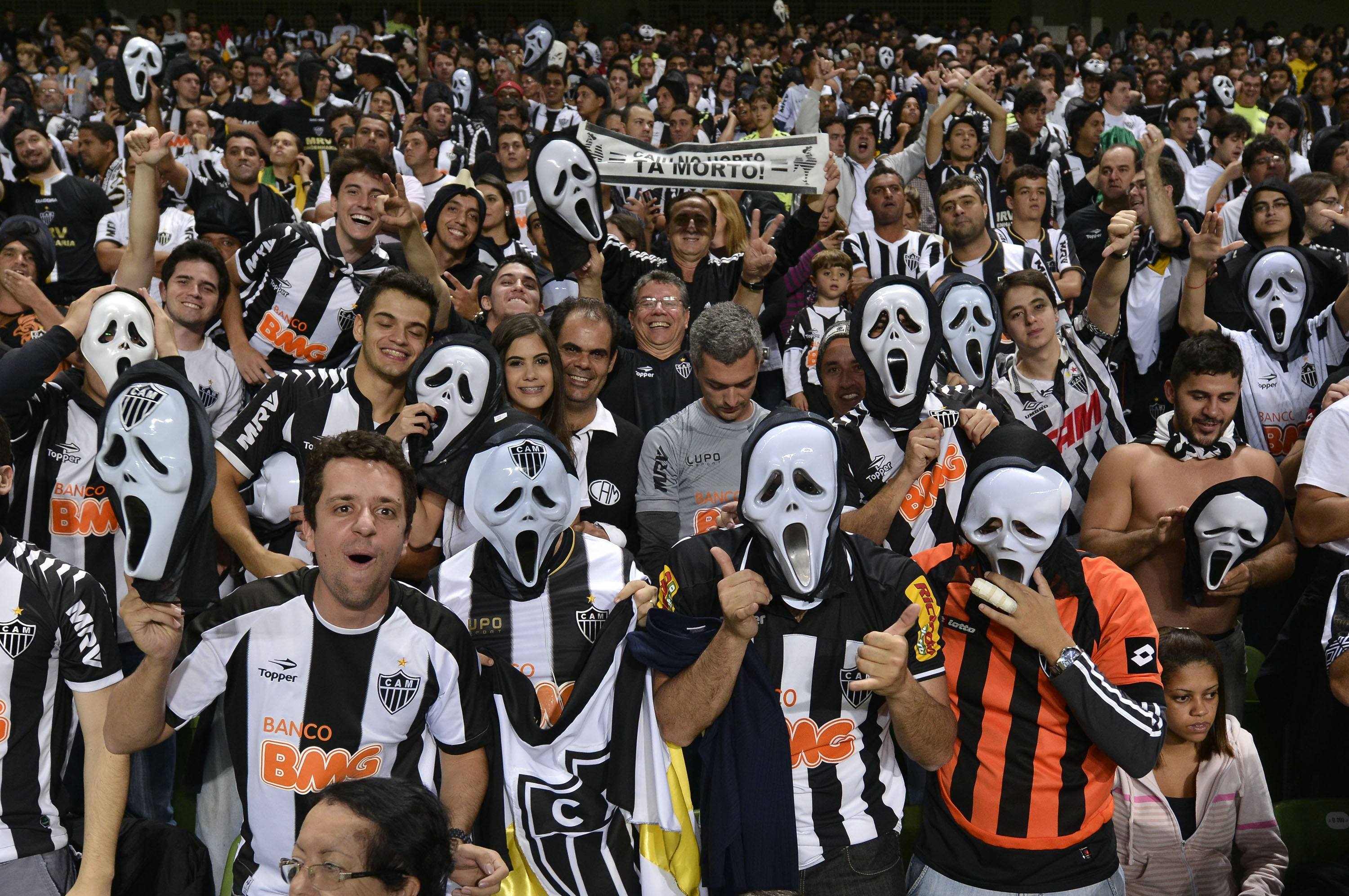 Torcida do Galo (Foto: Getty Images)