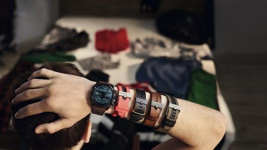 b023cf69401 Linha Diesel On soma lifestyle irreverente da marca italiana com as  facilidades dos relógios inteligentes