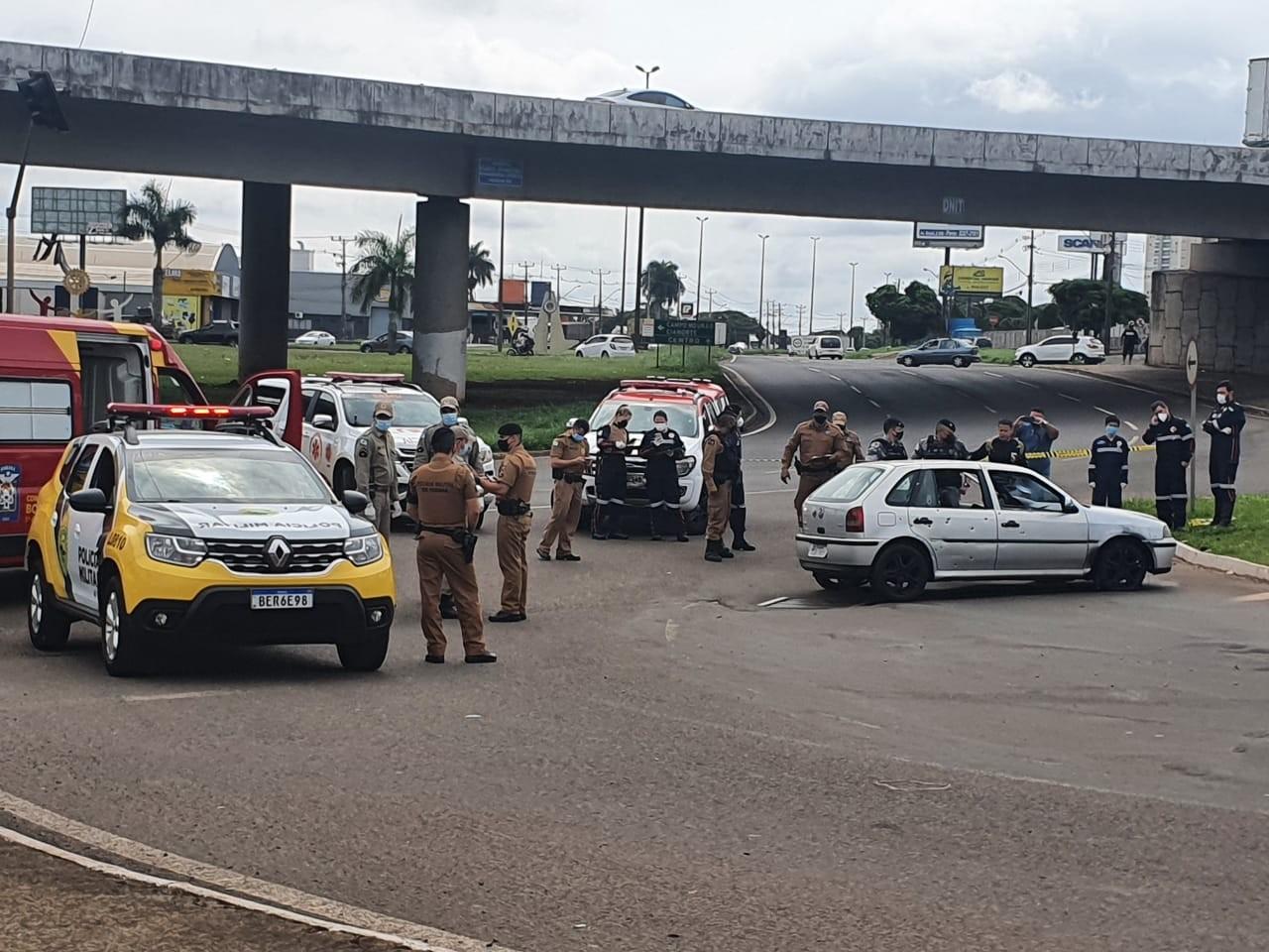 Três são mortos em confronto com a Polícia Militar entre Maringá e Sarandi