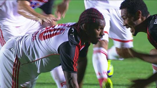 """Decisivo no último duelo da Copa do Brasil com Athletico, Amaral vê roteiro de 2013:""""Vai dar Flamengo"""""""