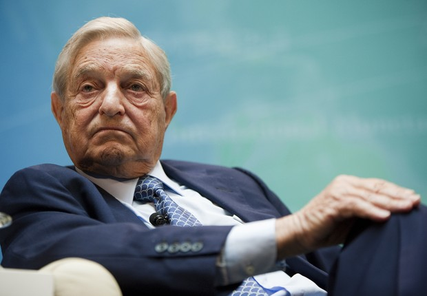 O bilionário e megainvestidor George Soros (Foto: Sean Gallup/Getty Images)