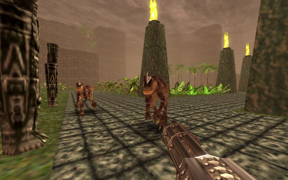'Turok: Dinosaur Hunter' foi lançado para Nintendo 64 em 1997 e agora ganha nova versão para Xbox One (Foto: Divulgação)