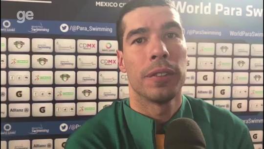 É penta! Daniel Dias leva mais um ouro na abertura do 5º dia do Mundial do México