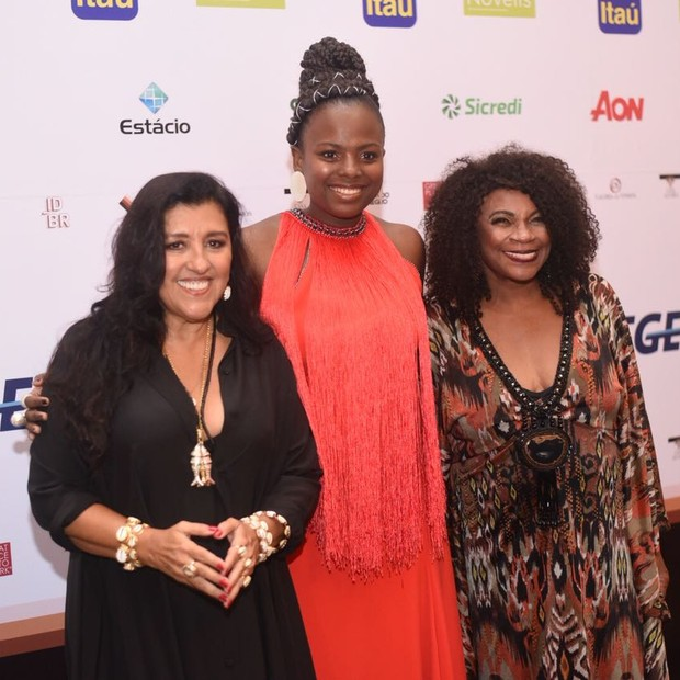 Regina Casé, Luana Génot e Zezé Motta (Foto: Ari Kaye)