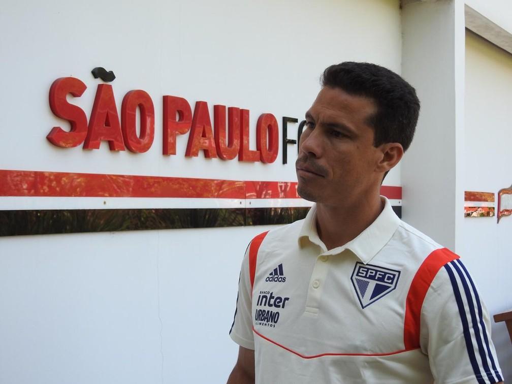 Hernanes diz que São Paulo briga por vaga na Libertadores — Foto: Marcelo Hazan