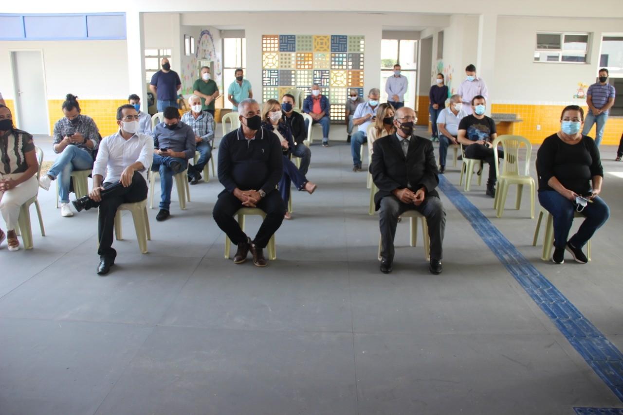 Prefeitura de Araguari inaugura Centro de Educação Infantil no Bairro Gutierrez