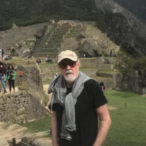 Ney Latorraca em Machu Picchu  (Foto: Arquivo pessoal)